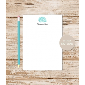 Hedgehog Personalized Notepad